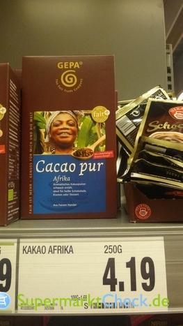 Foto von Gepa Kakao pur Afrika