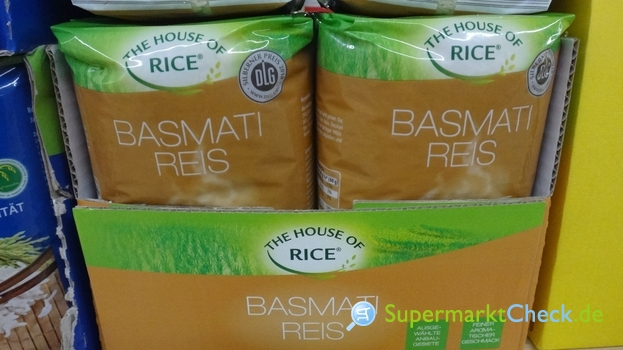 Foto von The House of Rice Basmati Reis