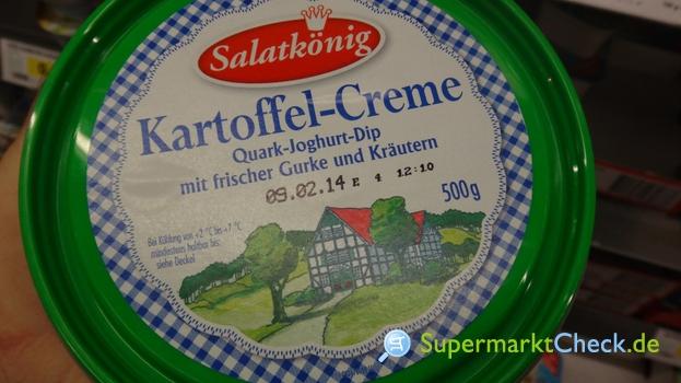Foto von Salatkönig Kartoffelcreme