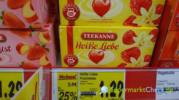 Foto von Teekanne Heiße Liebe