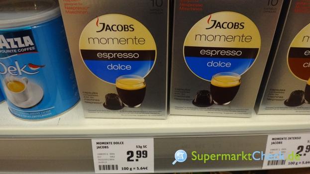 Foto von Jacobs momente espresso dolce