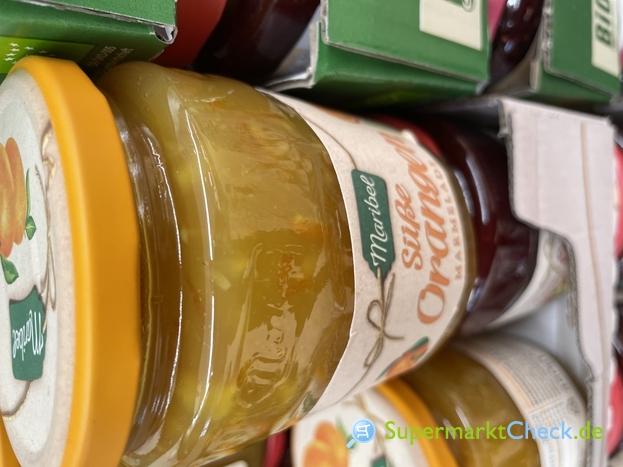 Foto von Maribel Süße Orange Marmelade