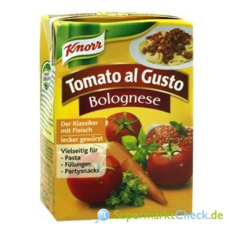 Foto von Knorr Tomato al Gusto