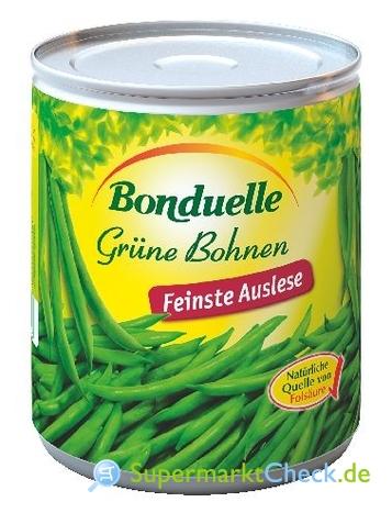 Foto von Bonduelle Grüne Bohnen