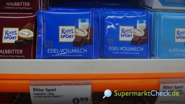 Foto von Ritter Sport Edel Vollmilch