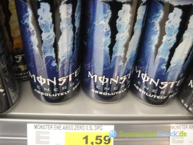 Foto von Monster Energy Absolutely Zero