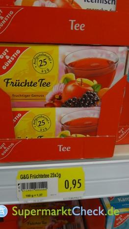 Foto von Gut & Günstig Früchte Teemischung