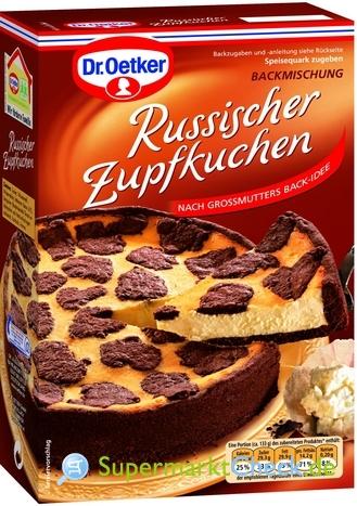 Foto von Dr. Oetker Russischer Zupfkuchen