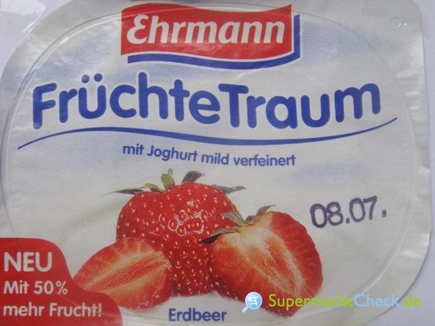 Foto von Ehrmann Früchte Traum