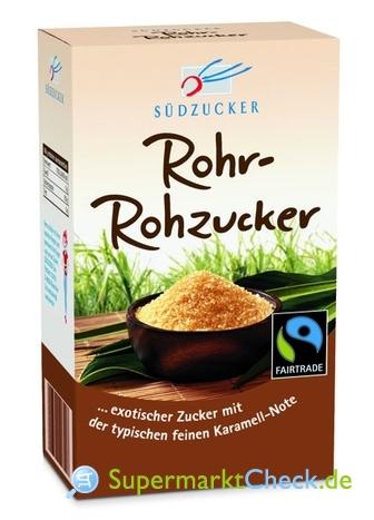 Foto von Südzucker  Rohr Rohzucker