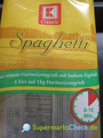 Foto von K Classic Spaghetti