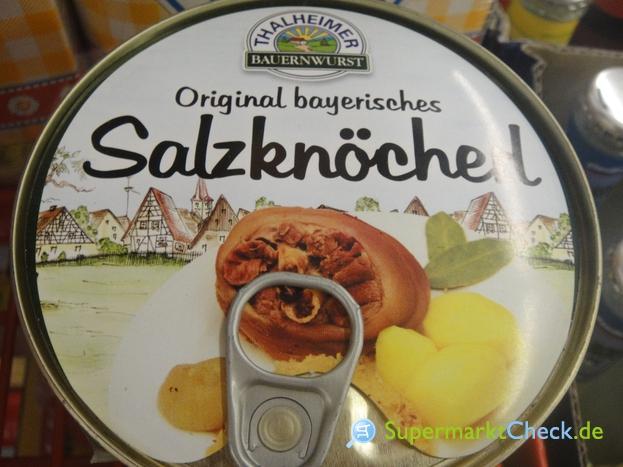 Foto von Thalheimer Bauernwurst Salzknöchel