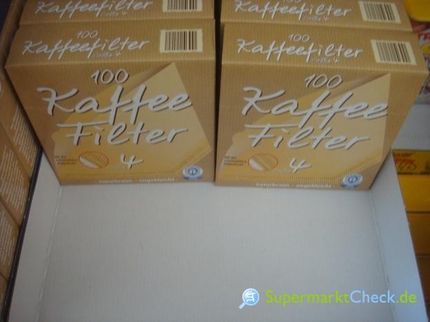 Foto von Aldi Süd 100 Kaffeefilter