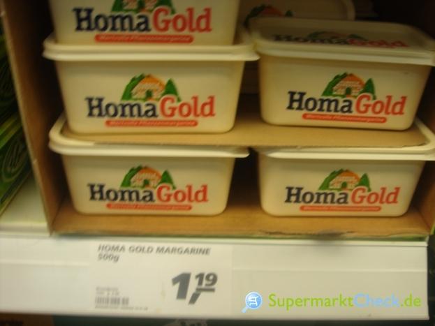 Foto von Homa Gold Pflanzenmargarine