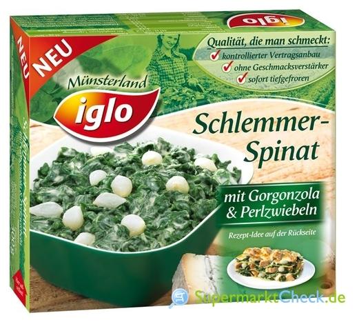 Foto von Iglo Schlemmer-Spinat
