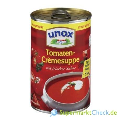 Foto von Unox Konzentrierte Suppen Tomatencremesuppe