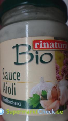 Foto von Rinatura Bio Sauce Aioli