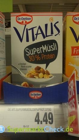 Foto von Dr. Oetker Vitalis Super Müsli 30% Protein