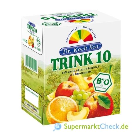 Foto von Dr. Koch Bio Trink 10