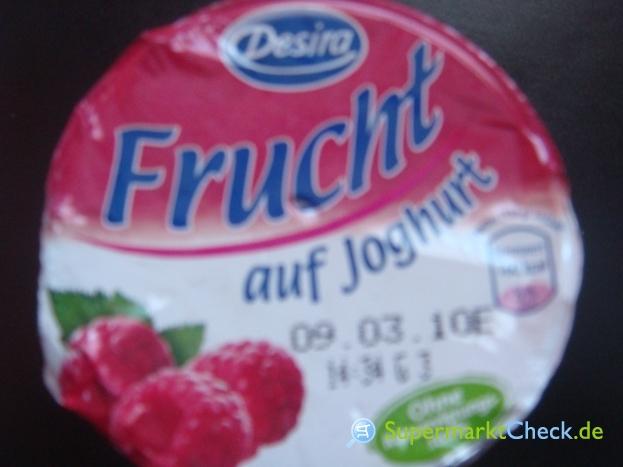 Foto von Desira Frucht auf Joghurt