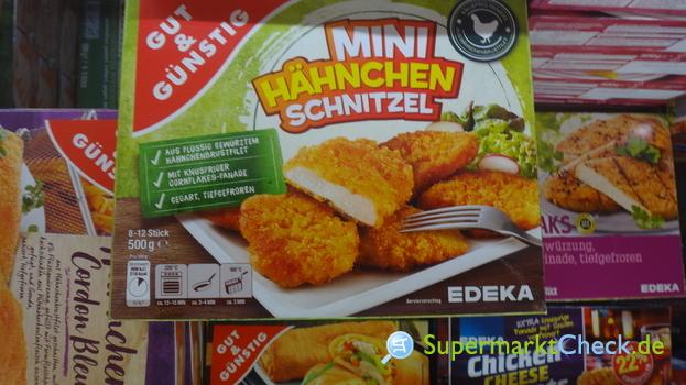 Foto von Gut & Günstig Mini Hähnchen Schnitzel