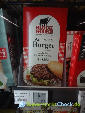 Foto von Block House American Burger