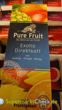 Foto von Pure Fruit Exotic Direktsaft