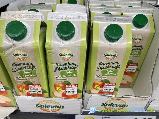 Foto von Solevita Premium Direktsaft