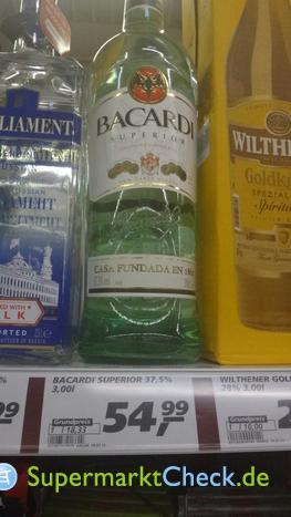 Foto von Bacardi Superior Rum