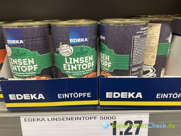 Foto von Edeka Küchen Klassiker Linsen Eintopf