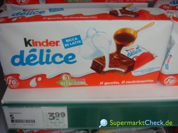 Foto von Ferrero Kinder delice