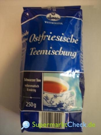 Foto von Westminster Ostfriesische Teemischung