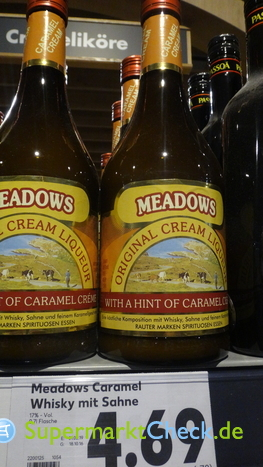 Foto von Meadows Original Cream Liqueur