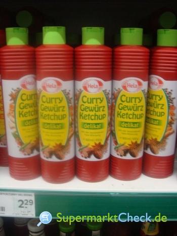 Foto von Hela Curry Gewürz Ketchup