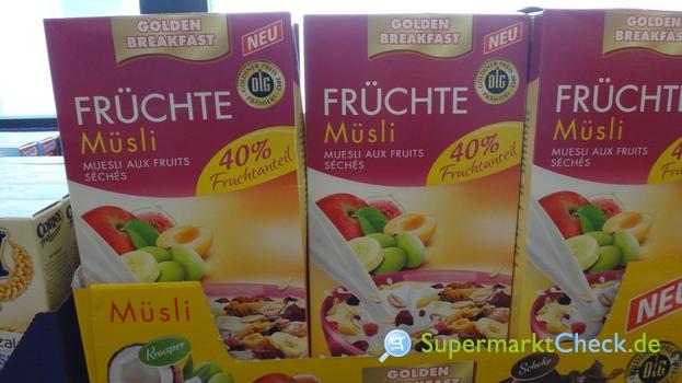 Foto von Golden Breakfast Premium Früchte Müsli