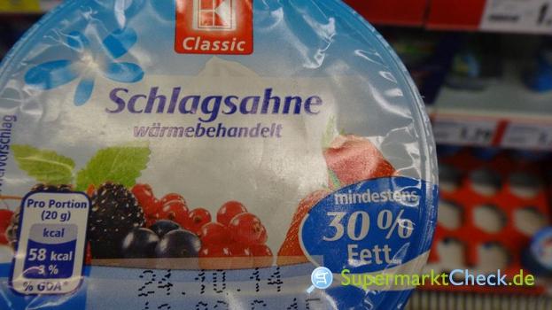 Foto von K Classic Schlagsahne