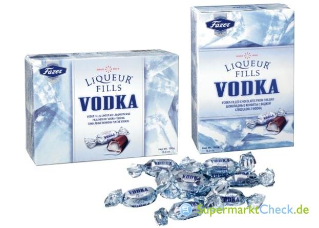Foto von Fazer Liqueur Fills Vodka