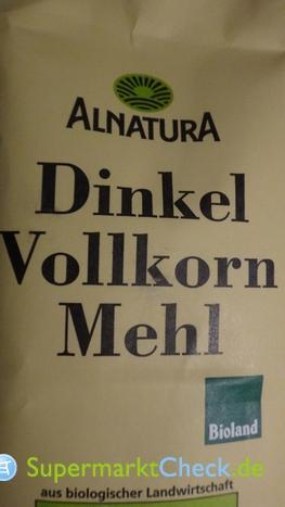 Foto von Alnatura Dinkel Vollkorn Mehl