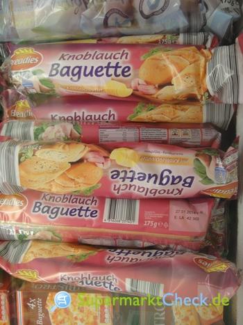 Foto von Breadies Knoblauch Baguette