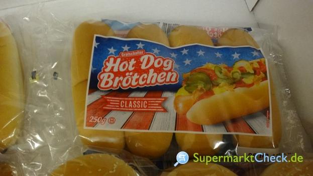 Foto von Grafschafter Hot Dog Brötchen