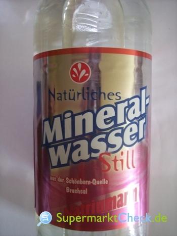 Foto von Norma Natürliches Mineralwasser