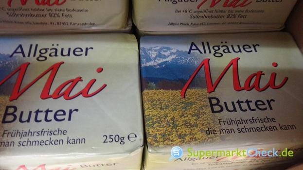 Foto von Allgäuer Mai Butter