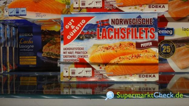 Foto von Gut & Günstig Norwegische Lachsfilets