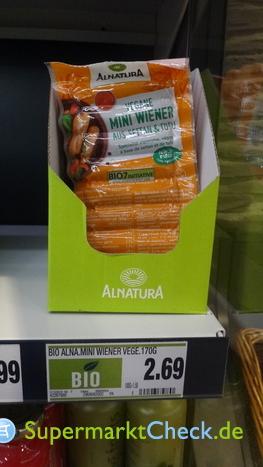 Foto von Alnatura vegane Mini Wiener
