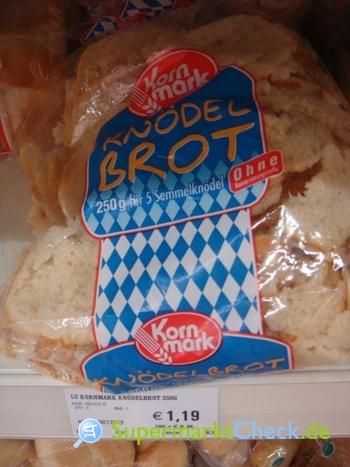 Foto von Kornmark Knödel Brot