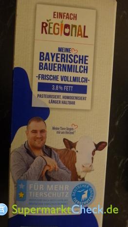 Foto von Einfach Regional Frische Bayerische Bauernmilch