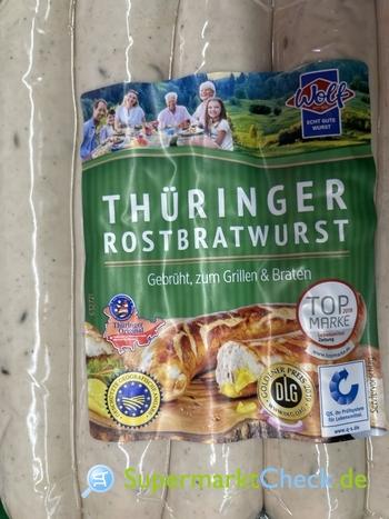 Foto von Wolf Thüringer Rostbratwurst