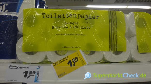 Foto von Ohne teuer Toilettenpapier