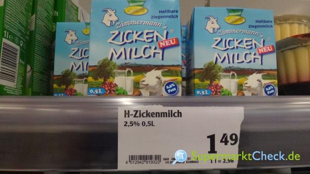 Foto von Altenburger H Zickenmilch