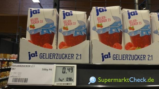 Foto von ja! Gelierzucker